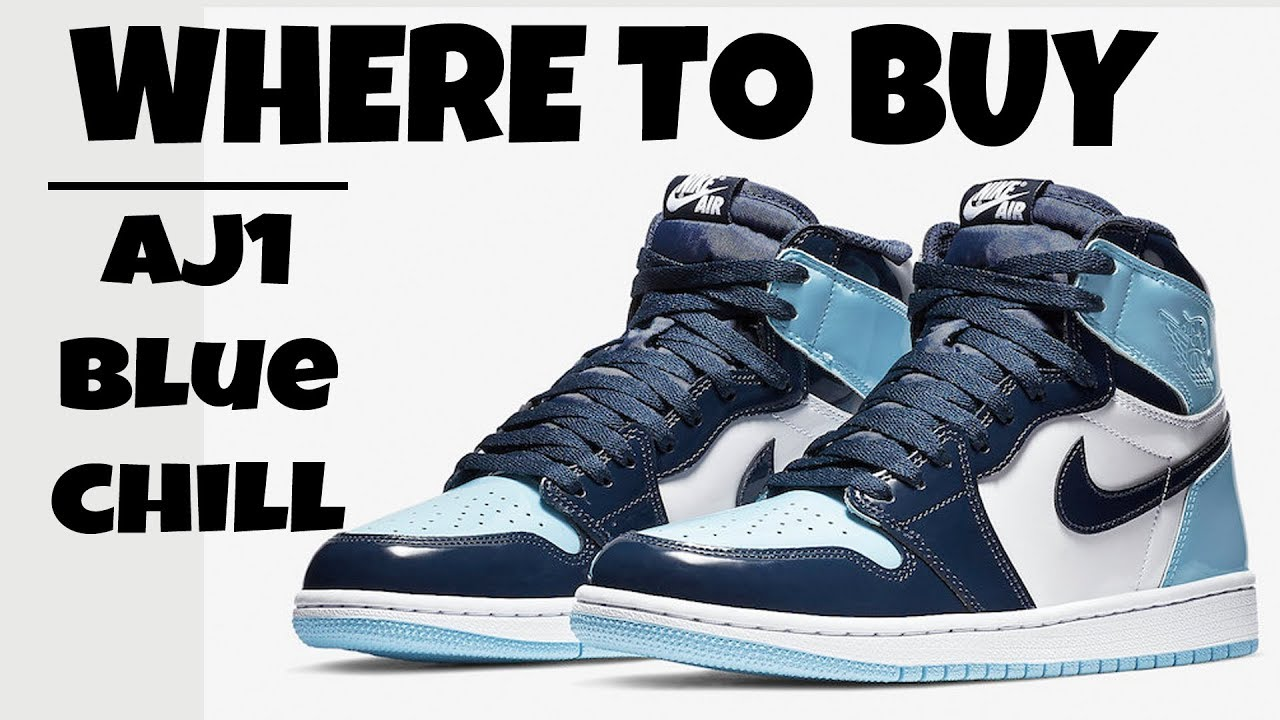 Where To Buy Air Jordan 1 High Og Blue Chill How To Cop Unc 1