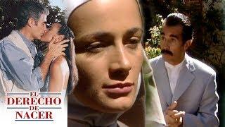 El derecho de nacer - C-33: ¡Alfredo vuelve a buscar a María Elena! | Televisa