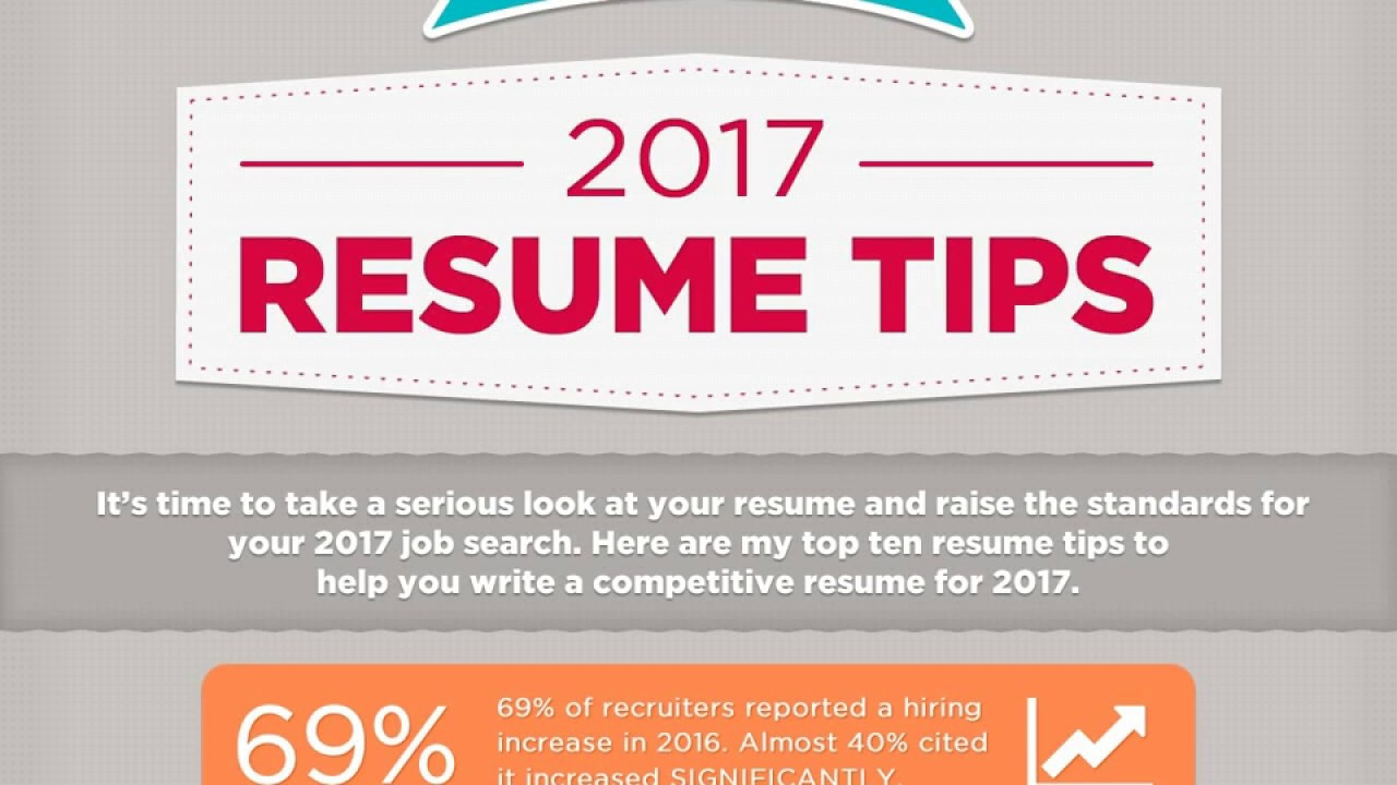 2017 Resume Tips From Executive Resume Writer Jessica Holbrook Hernandez    YouTube  Tips For Resume Writing