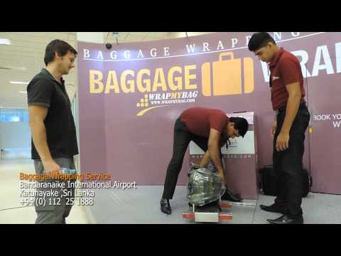 Baggage Wrapping Service Bandaranaike International Airport Sri Lanka
