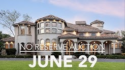 Dallas Texas Luxury Home For Sale By No Reserve Auction June 29