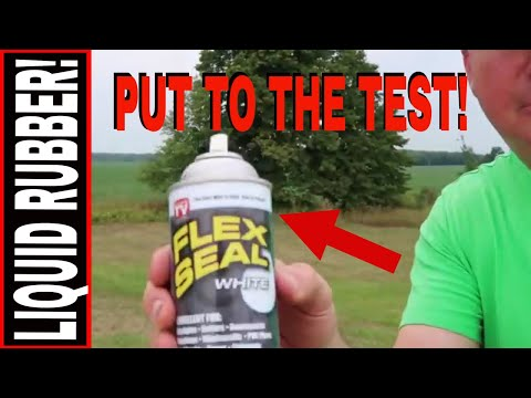 Flex Seal Spray Rubber Put To The Test Youtube