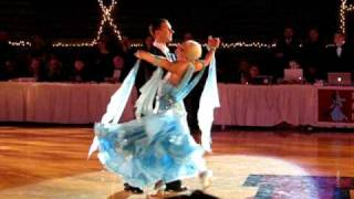 Arunas and Katyusha Viennese Waltz Show at Harvard Ballroom Competition 2010