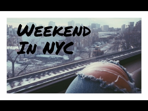 Weekend in NYC - school, matcha and dating..