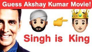 Akshay Kumar Emoji Challenge! Guess Bollywood Movies