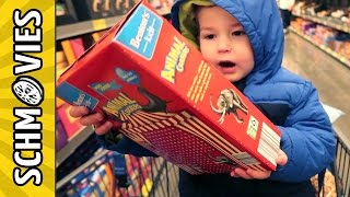 2 Year Old does our Grocery Shopping!