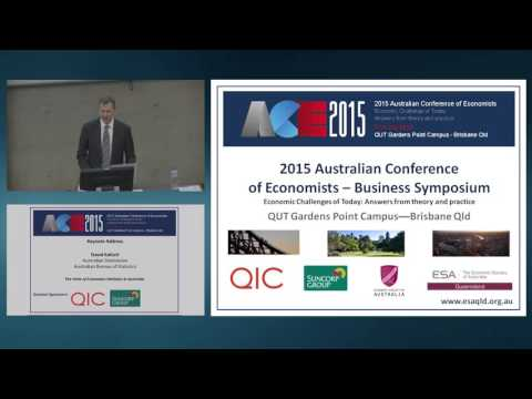 David Kalisch -- The State of Economics Statistics in Australia