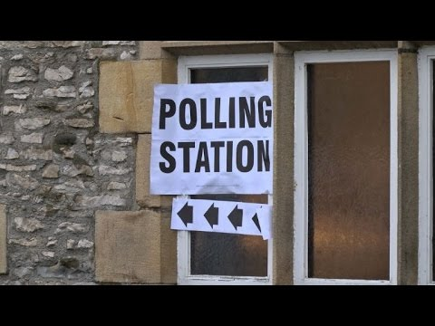 British voters in Cumbria cast their ballots in UK election