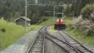 BLM Lauterbrunnen - Murren Mountain Railway part 1