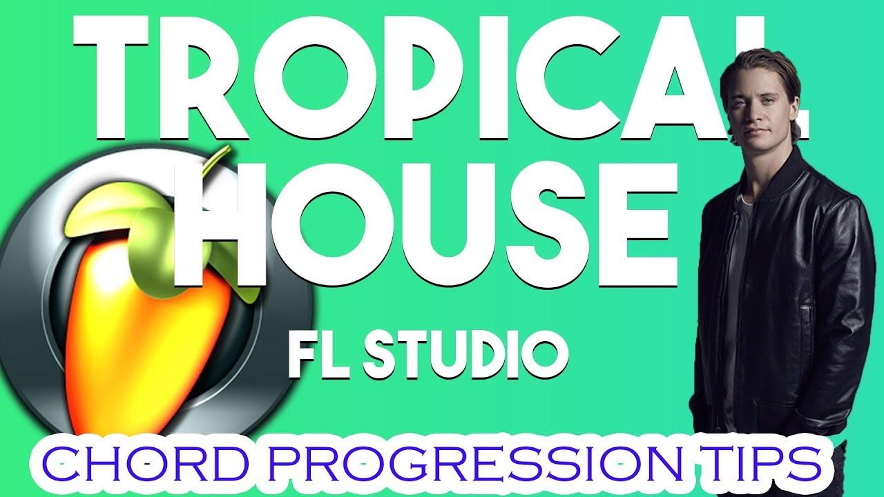 How To Make Tropical Housechords Like Kygo San Holoetc Youtube