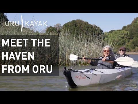 Meet the Haven: A Tandem Folding Kayaking from Oru Kayak