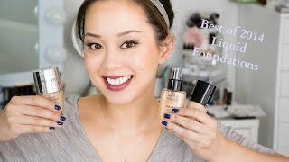 Best of 2014 Liquid Foundation, Foundation, Liquid Foundation, Beauty, Makeup, Face, flawless face, glow,