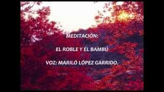 MEDITACIÓN. -EL ROBLE Y EL BAMBÚ.