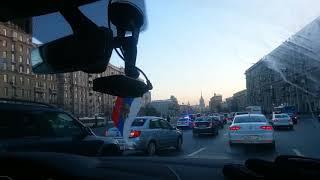 Смотреть видео Сбит человек труп на Кутузовском проспекте автомобилем 22.02.2018 Москва онлайн