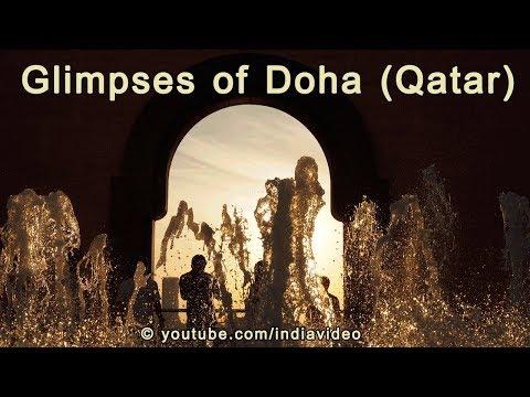 Doha (Qatar) Sights and Airport Bus Ride