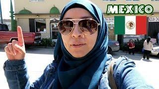 En MEXICO Vamos A La Mezquita + Mariscos En Rosarito | Gris Aminah