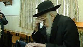 Rav Yosef Shalom Elyashiv ztz