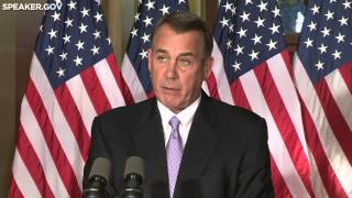 Boehner Responds to President's Unilateral Action on Immigration