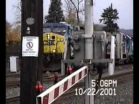 City of Kingston Railfan: 2001 - A  Railfan Odyssey (Post 9/11) Part 1