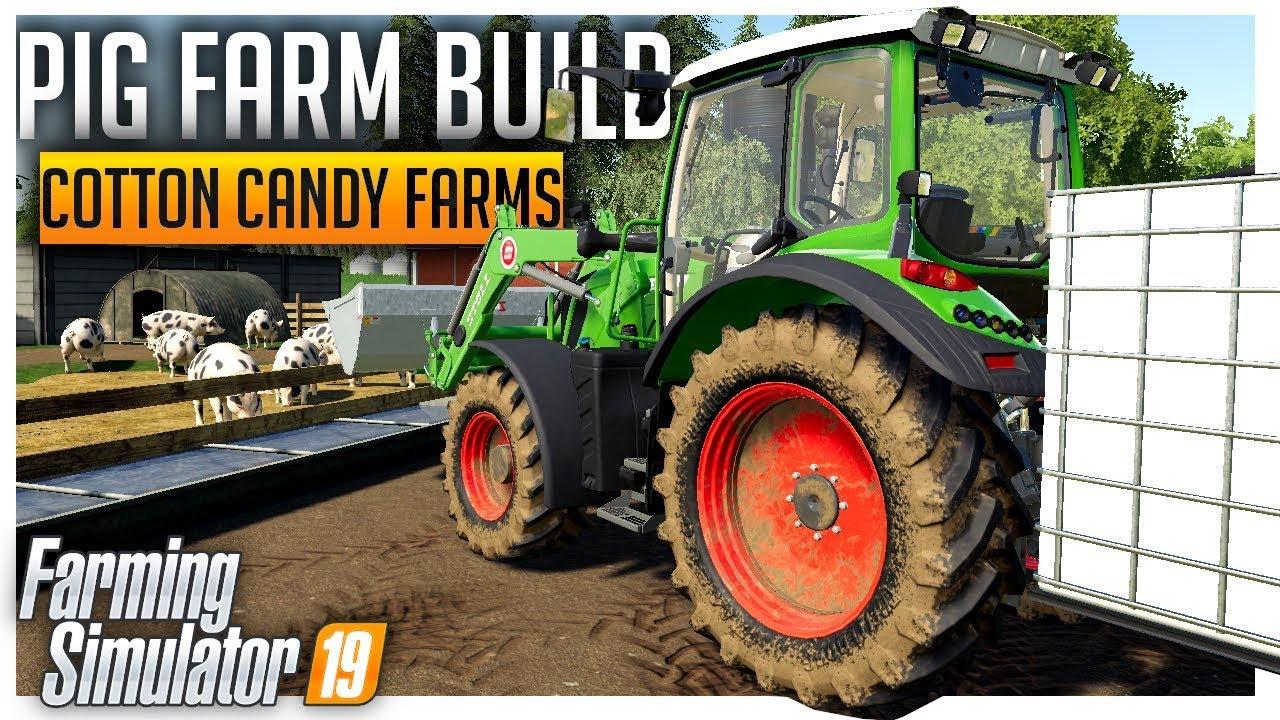 d630801f5a Building the Pig Farm, Southern Farming | Farming Simulator 19
