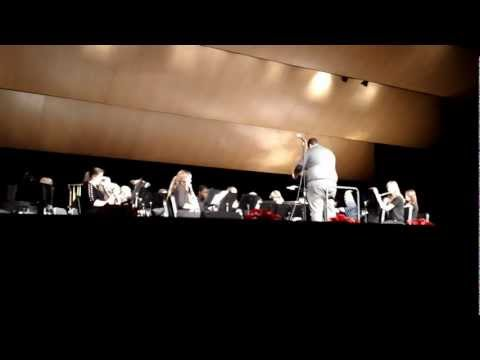 Greenfield High School, WI ~ Wind Ensemble Christmas Concert 2012 ~ 4th Number