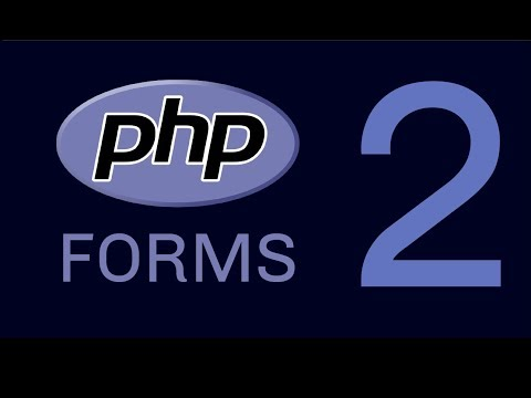 Create A Basic #PHPContactForm // 2 Of 2