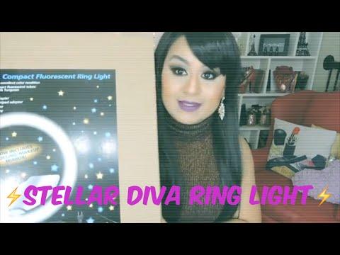 Stellar Diva Ring Light Systems (Abriendo caja con ustedes)