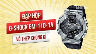 Đập hộp Casio G-Shock GM-110-1…