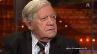 Helmut Schmidt zum Tod von Osama bin Laden