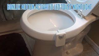 Bonlux Motion Activated RGB LED Toilet Nightlight