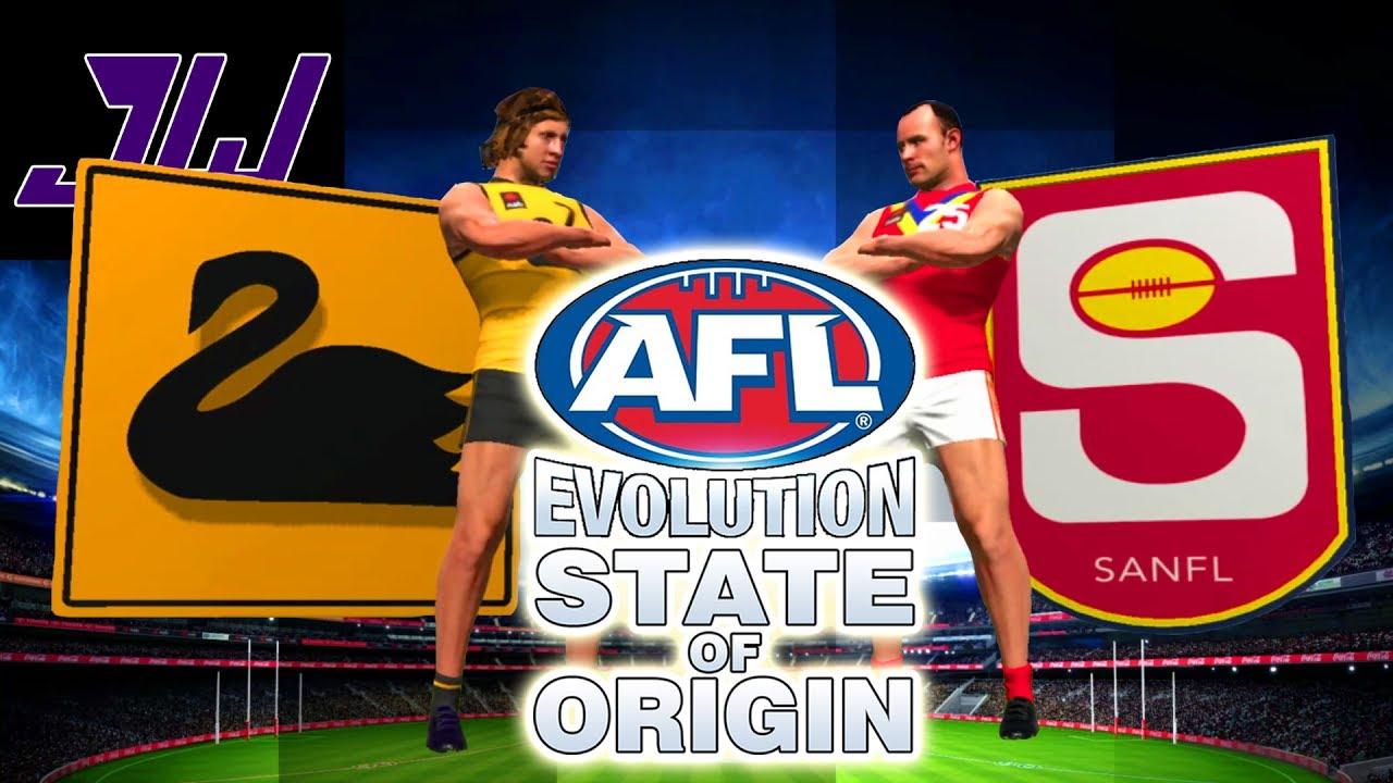 Down To The WIRE! WA vs SA! AFL State Of Origin TOURNAMENT GAME 2 ...