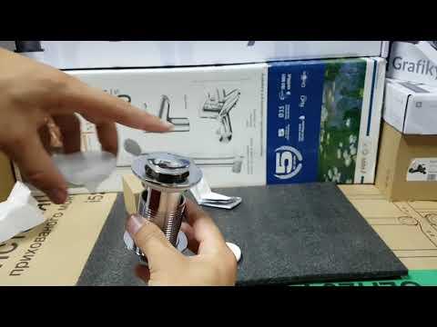 IMPRESE PP280stribro Донный клапан Pop-up