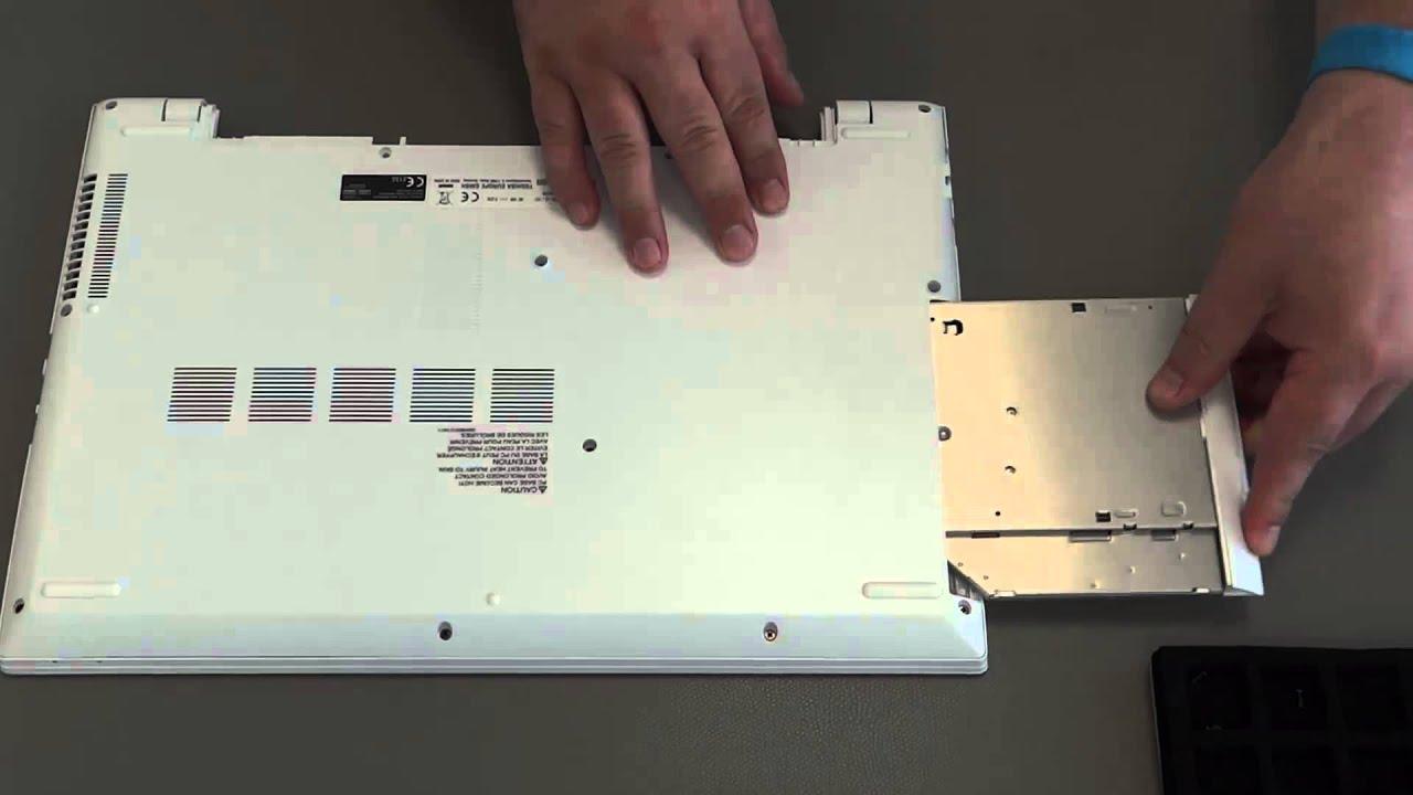 Toshiba Satellite C55 C Odd Replacement Youtube