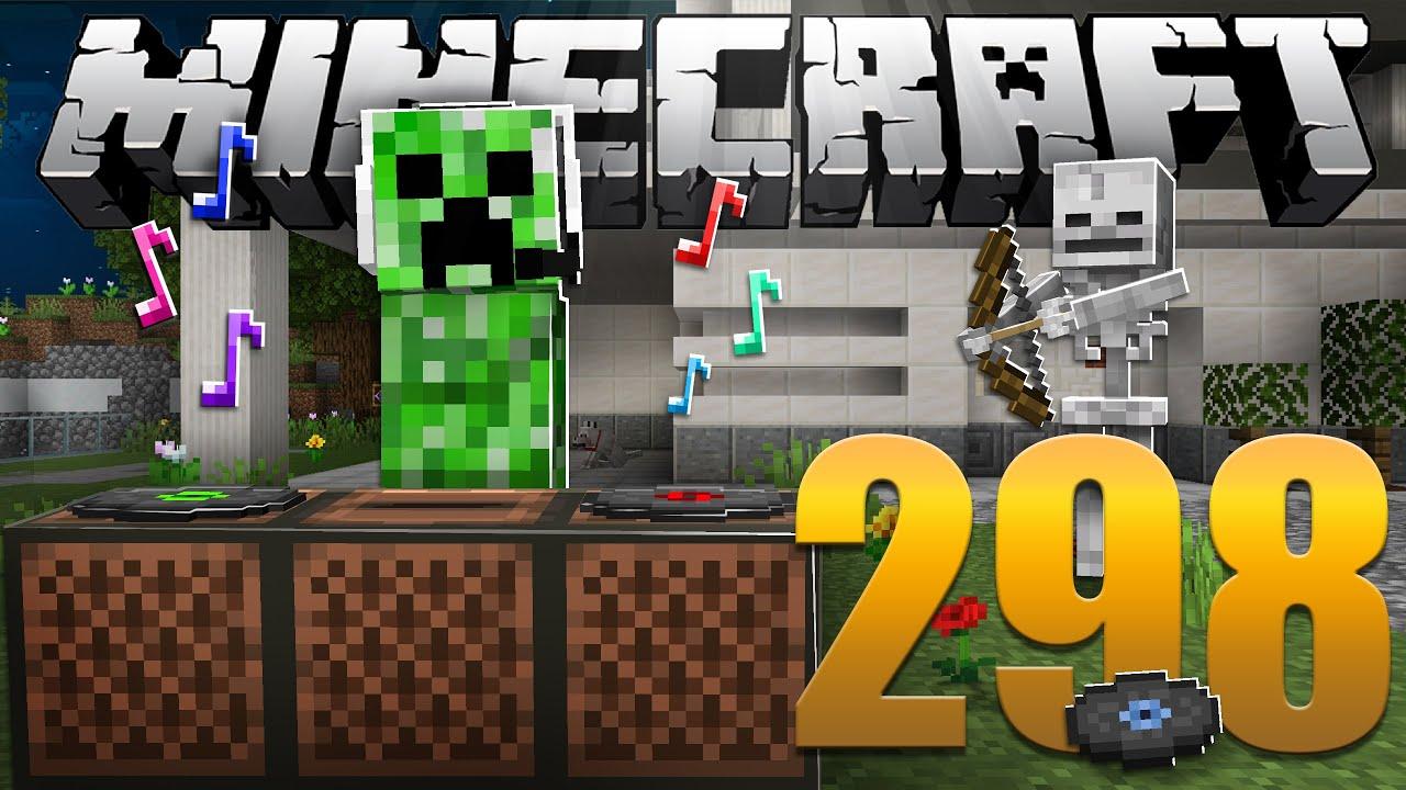 Farm de Discos - Minecraft Em busca da casa automática #298