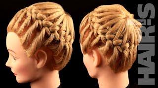 Делаем прическу с круговым плетением - видеоурок (мастер-класс) Hair's How