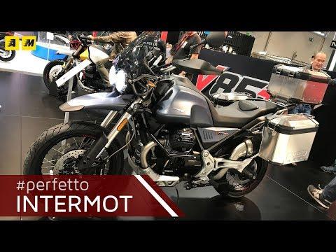 Moto Guzzi V85TT - Intermot 2018 [ENGLISH SUB]