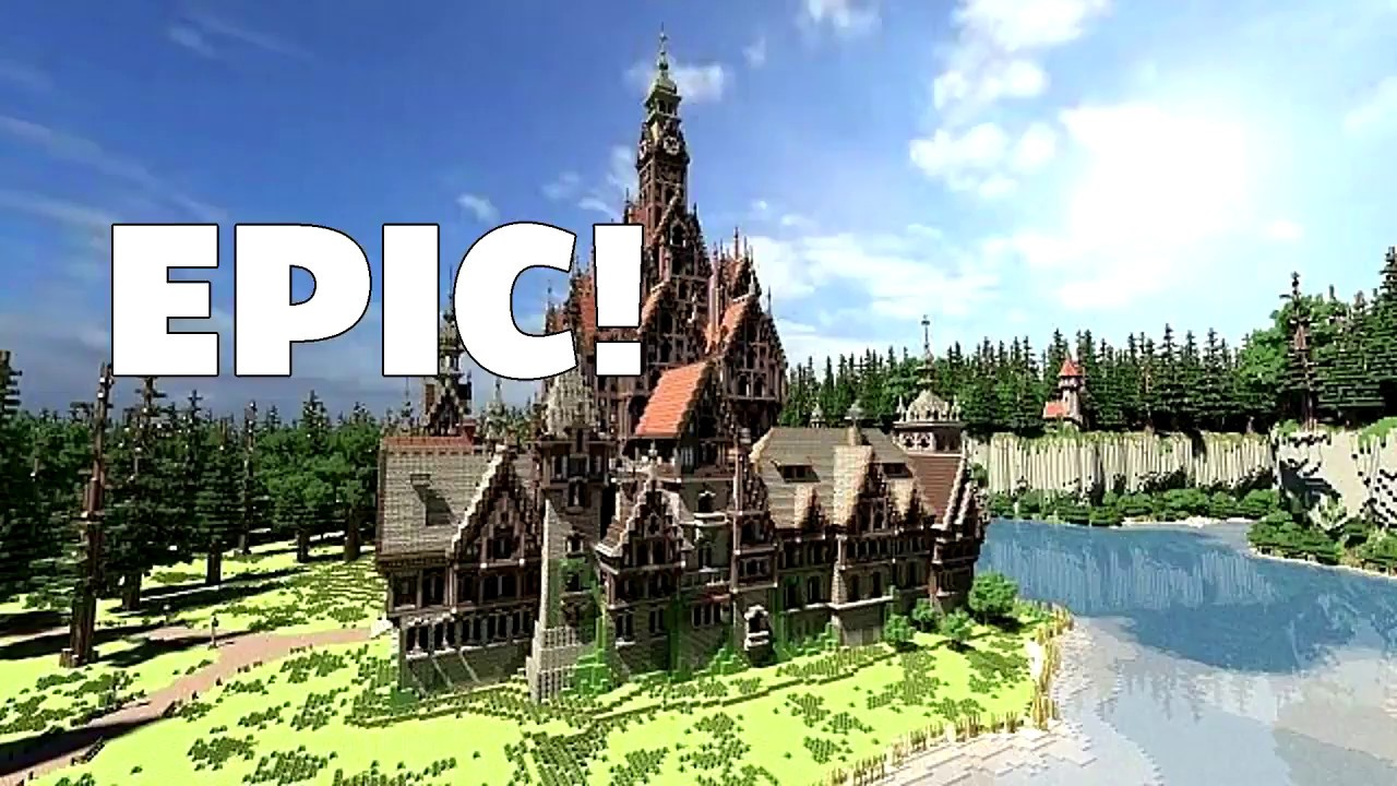 Minecraft How To Build Epic Structures In Minutes Best Glitch Ever