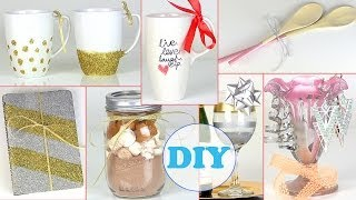 10 DIY Gift Ideas ! Last Minute DIY Holiday Gift Ideas