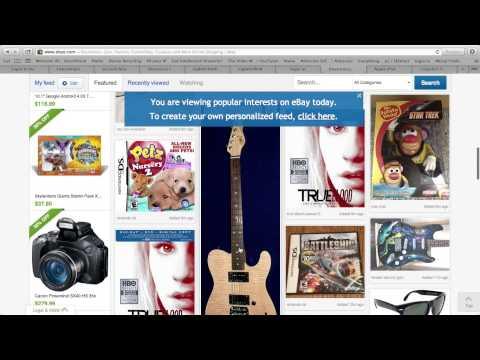 ebay feed experience-Let us drop ship catalog design idea