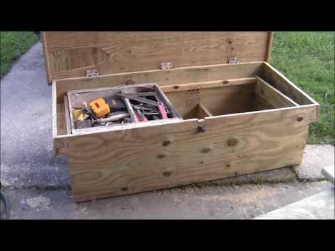 THE CARPENTERS TRUCK TOOL BOX