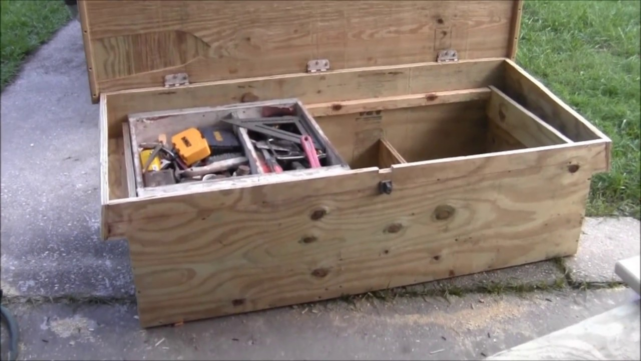 The Carpenters Truck Tool Box Youtube