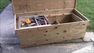 The Carpenters Truck Tool Box