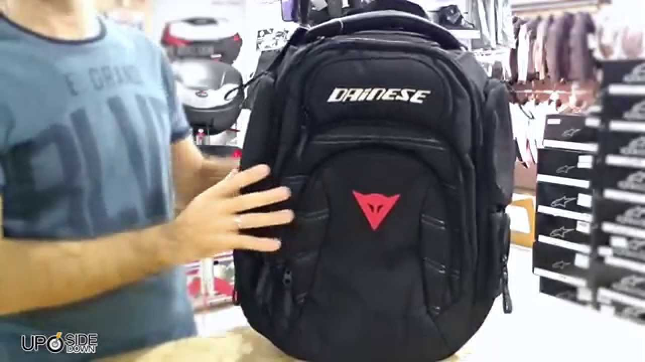7394c6feb6 Dainese D-Gambit Backpack - YouTube