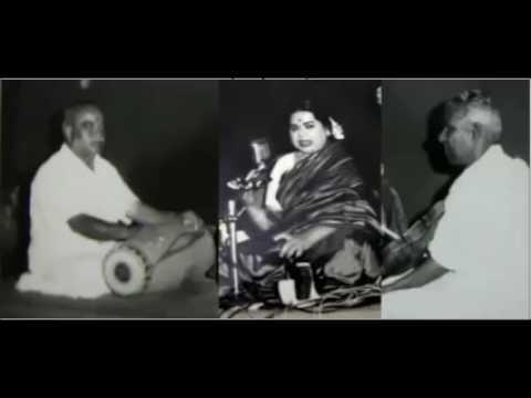 Vidushi M L Vasanthakumari @Tamil Isai Sangam, Akashvani direct relay