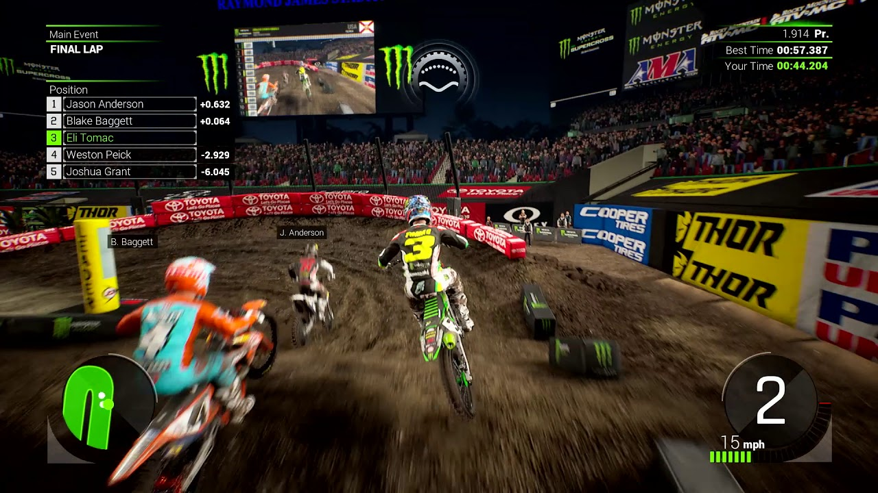 monster energy supercross switch patch