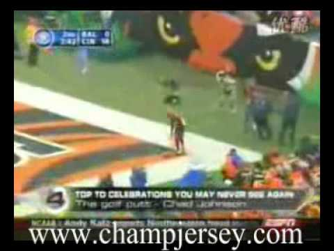 $23 Stitched On NFL Jersey - NFL Football Top 10 celebrations you may never see again