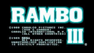 Mega Drive Longplay [274] Rambo III