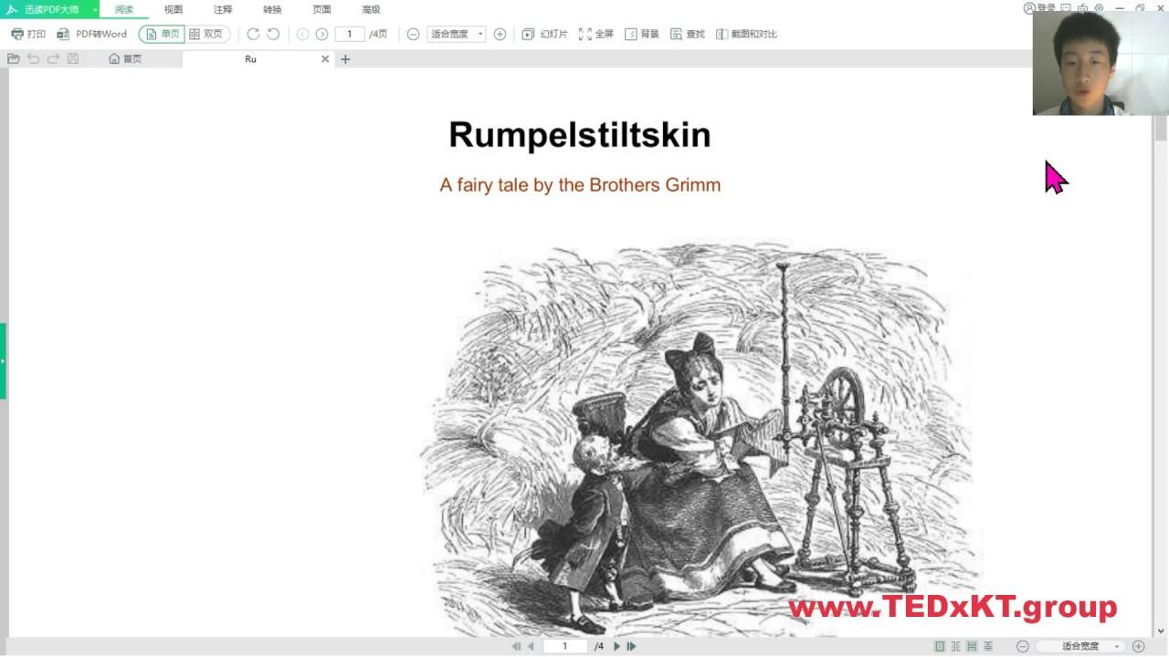 Rumpelstiltskin (en, The brothers Grimm fairy stories