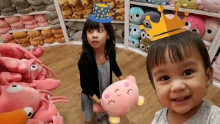 Kids Pretend Play Shopping Toys at Toystore Fun Happy Playing