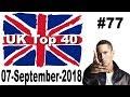 UK Top 40 Singles Chart 07 September, 2018 № 77
